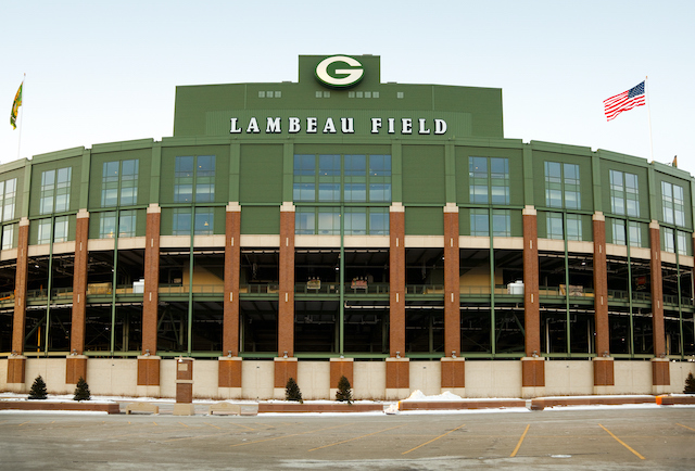 Lambeau Field; Home Of The Green Bay Packers